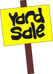 Friends of the Library Yard Sale